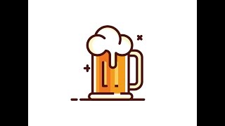 Beer Icon - Adobe Illustrator