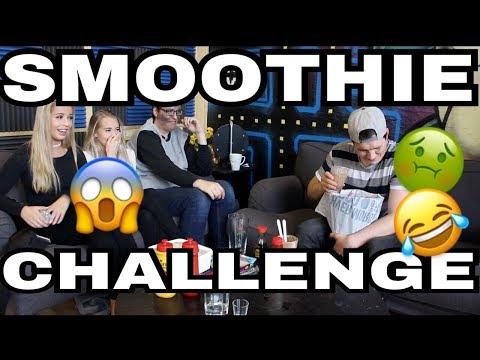 Smoothie challenge- med PrebzOgDennis