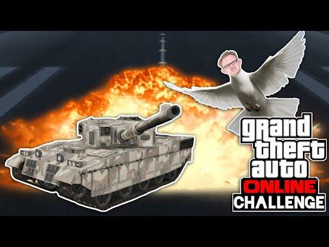Challenge: Mit KANONEN auf Tauben SCHIEẞEN 🎮 Grand Theft Auto Online #201