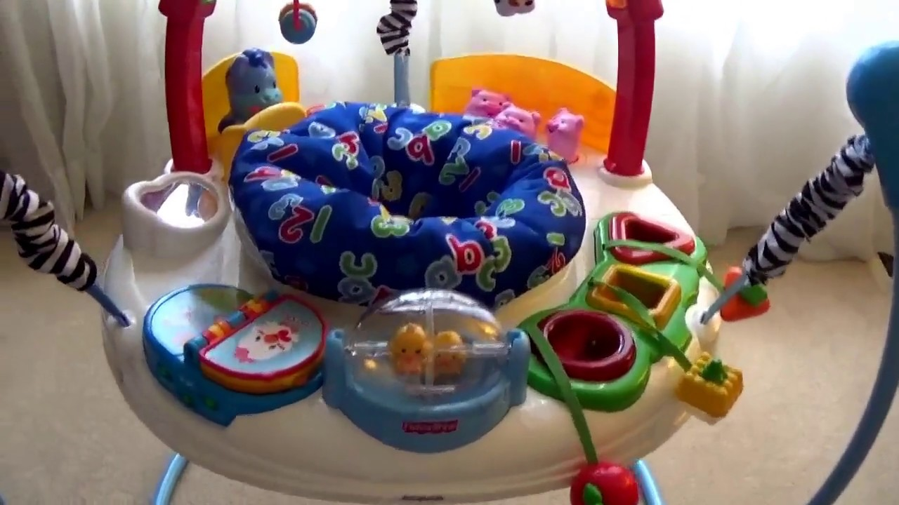 c566b92a718a Laugh Learn Jumperoo for Ebay - YouTube