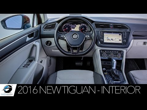 2016 NEW VW Tiguan | INTERIOR DESIGN