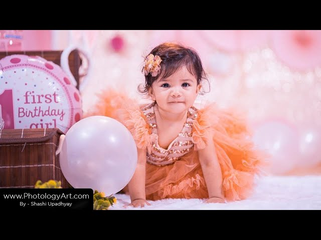 Dhvani's 1st Birthday Video shoot | By Photology Art
