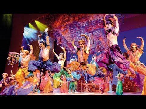 Mit Aladdin und Dschinni hinter den Kullissen