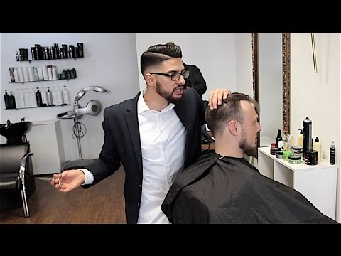 FRISEUR ⎮ Deutsche vs. Araber ⎮ Younes jones