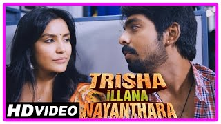 Trisha illana nayanthara tamil movie | climax scene | gv praksh meets priya anand in train