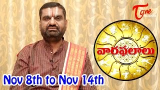 Vaara Phalalu | Nov 8th to Nov 14th 2015 | Weekly Predictions 2015 Nov 8th to Nov 14th