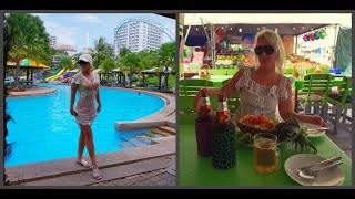 Влог из Паттайи отель Pattaya Park в сезон дождей. Безлимитное кафе Ниндзя. Покупки.