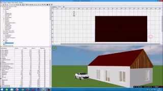 как сделать крышу в  Sweet Home 3D
