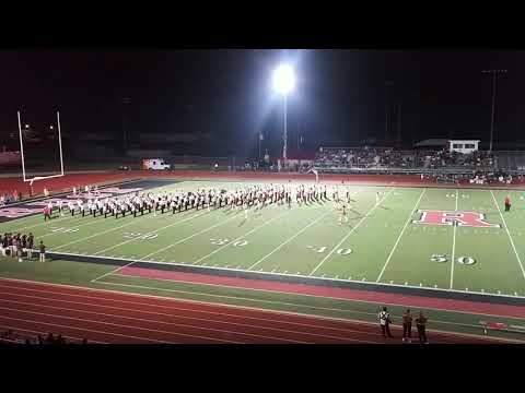 Rusk High School Band Halftime Performance 9/13/2019
