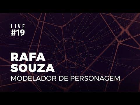 Live #19 | Criação de Personagem Sci-fi com Rafa Souza