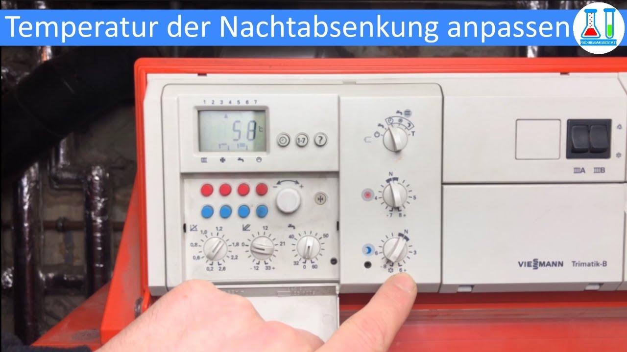Extrem Lösung: Heizung Nachtabsenkung zu kalt? -Viessmann Trimatik B NZ92