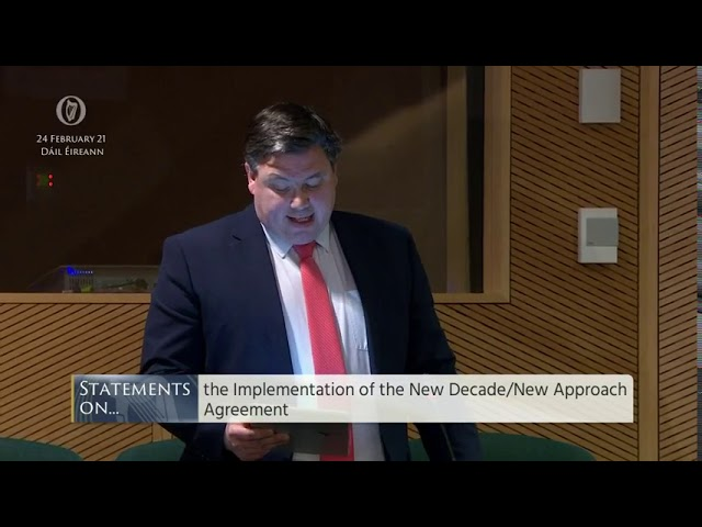 Statements on the New Decade New Approach agreement