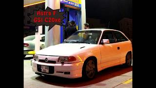 OPEL ASTRA F GSI C20xe Exhaust Sound |Biraders'Garage