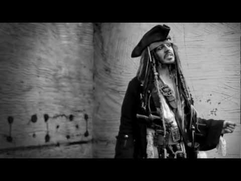 Jack Sparrow - There you are (Brad Pitt Chanel N°5 commercial parody)