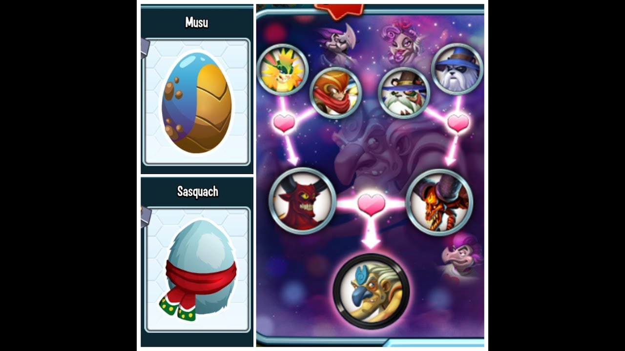 Download Monster Legends-How To Breed Epic Musu And Sasquach In New Year Breeding Event