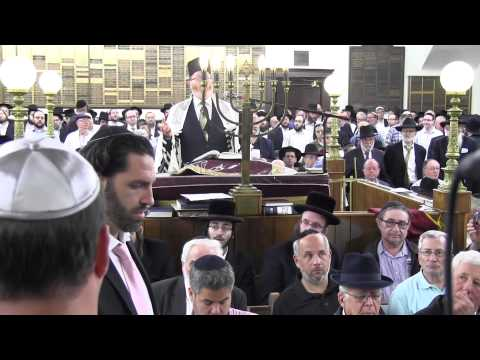 The King Of Cantors Event in Borough Park