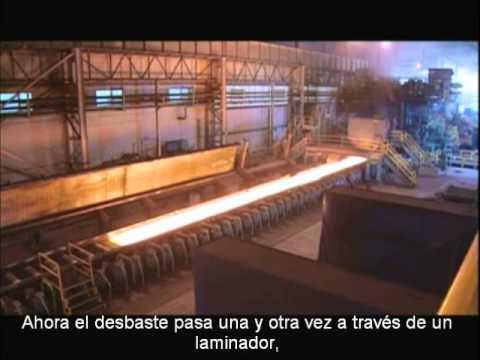Proceso producción acero inoxidable de NAS