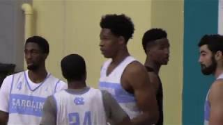 ICTV: UNC Basketball Extended Bahamas Highlights - Game 1