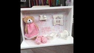 Porta de maternidade ursinho – 1a parte