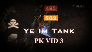 Runescape | Ye Im Tank Pk Video 3 - High Risk Hybridding - 750M + Loot