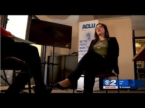 "KUTV Newscast: ""ACLU guides Utah students ahead of gun control protest"" (3/12/18)"