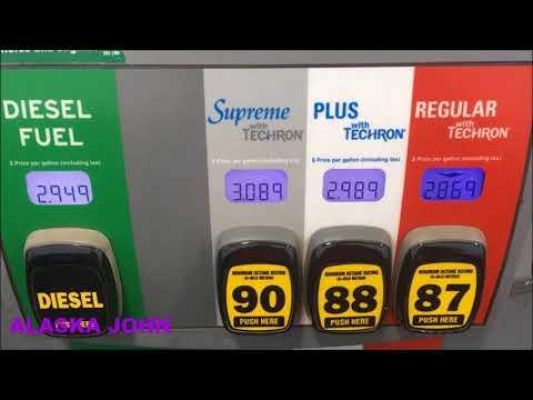 ALASKA GAS PRICES - Anchorage - September 21st 2017