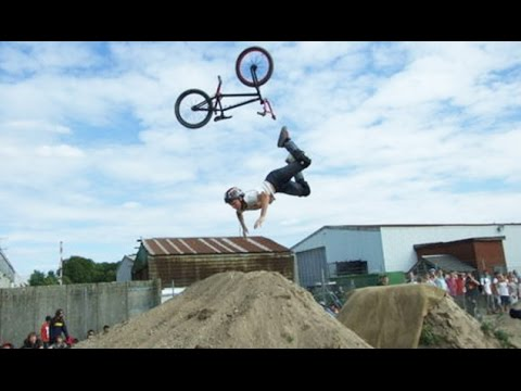 Bad luck bikers failing in funny ways - Awesome funny bike fail compilation