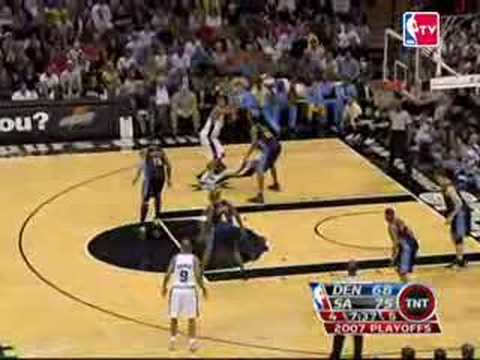 Denver vs San Antonio 2007 NBA Playoffs Game 5 Highlights