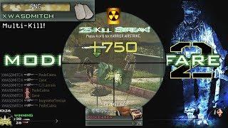Modern Warfare 2 Sniping in 2019... I HIT AN INSANE CLIP!