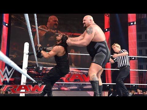Roman Reigns Vs. Big Show: Raw, April 6, 2015
