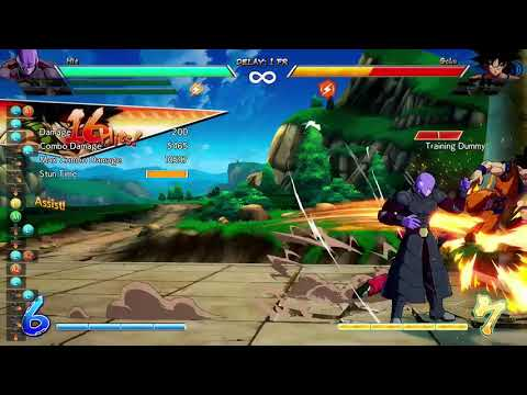 DBFZ Hit No spark TOD w/DHC