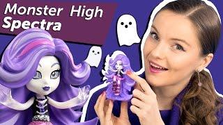 Spectra Vondergeist Vinyl Figure (Виниловая фигурка Спектры) Monster High Обзор  Review CGG87