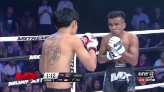 พลอย ศิษย์มนต์ชัย vs กี้ ฮิม : Mx Muay Xtreme Highlight : 28 เมษายน 2560