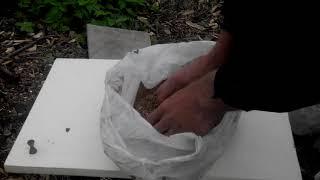 ОПАРЫШ в Полиэтиленовом пакете в холодную погоду