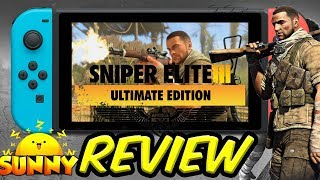 Sniper Elite 3 Ultimate Edition Nintendo Switch Review | Online Multiplayer Review|Handheld Gameplay (Video Game Video Review)