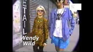 1980s New York East Village, Cafes, Fashionable People, POV