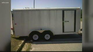 Another Boy Scout trailer stolen