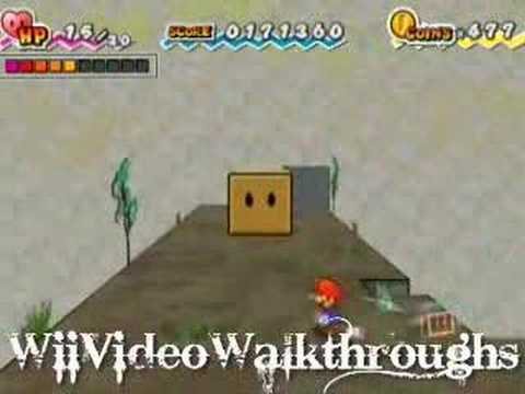super paper mario how to find the 4th heart pillar