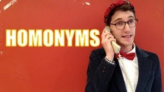 Psy / Sigh - Homonyms - Mr. Palindrome's Kids Vlog #6