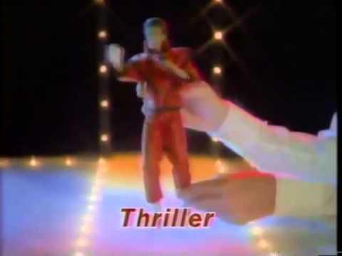Michael Jackson Action Figure Commercial LJN Toys