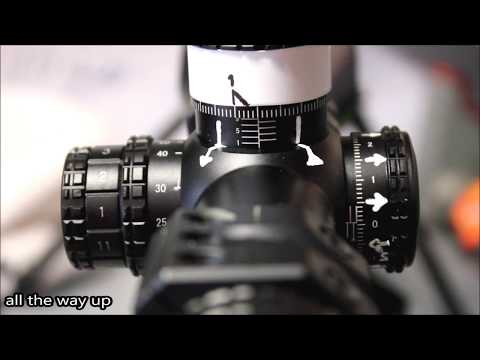 Minox zx i reticle subtensions youtube