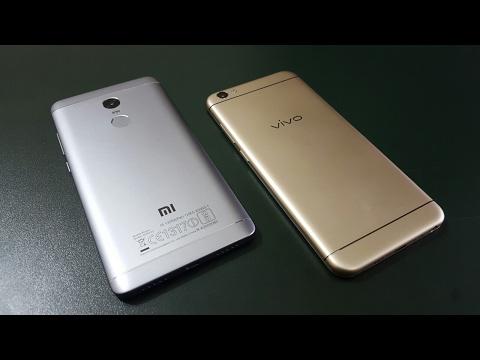 Vivo V5 vs Xiaomi Redmi Note 4   Comparison   Which Is Better