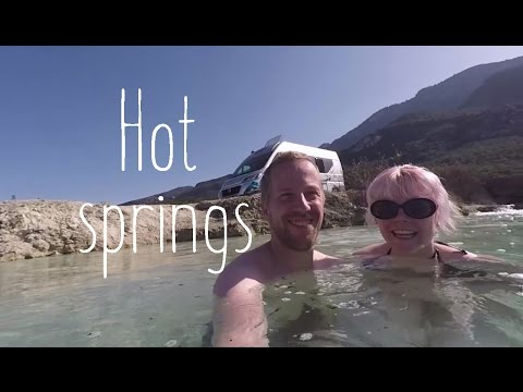 Wild hot spring and visit to Delphi