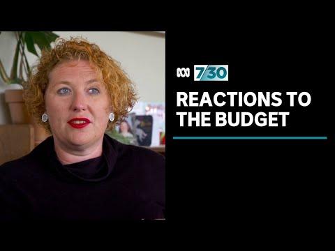 Australians react to big spending budget | 7.30