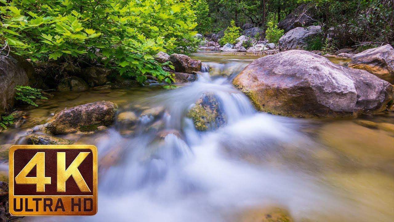 Clear Mountain Stream - Amazing 4K Nature Scene and Nature ...