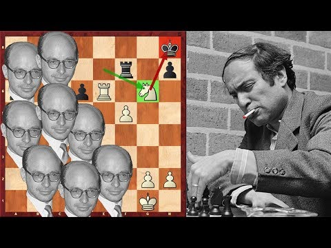 Must See! Mikhail Tal Plays Against 8 Bronsteins