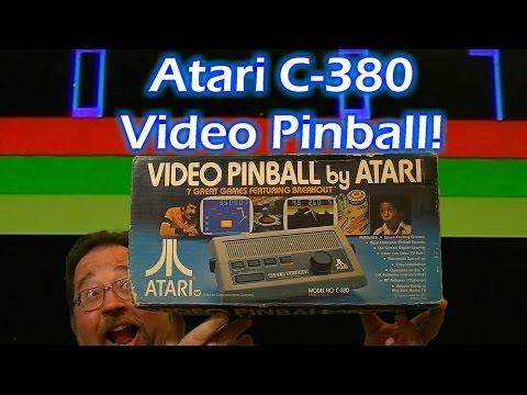 Atari C380 Home Video Pinball Console!