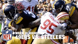 49ers vs. Steelers | Week 2 Highlights | NFL