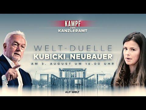 KAMPF UMS KANZLERAMT: Wolfgang Kubicki gegen Luisa Neubauer - Wie radikal darf Klimaschutz sein?