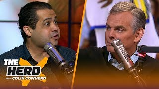 Download LeBron isn't leaving Lakers, Kyrie to LA is 'best case scenario' - Arash Markazi | NBA | THE HERD Mp3 and Videos